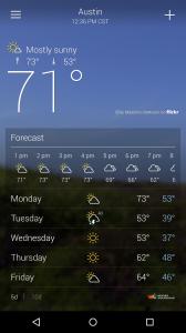 z pewnością na swoim Androidzie masz zainstalowaną podstawową wersję aplikacji pogody, ale jeśli stawiasz na wygląd i oczekujesz więcej informacji, szczerze polecamy!